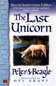 The Last Unicorn book