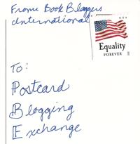 postcard blogging exchange