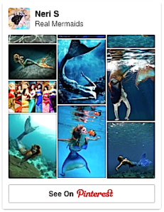 Pinterest Board RealMermaids 3