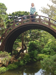 The Moon Bridge is the gateway into Lily's knowe.