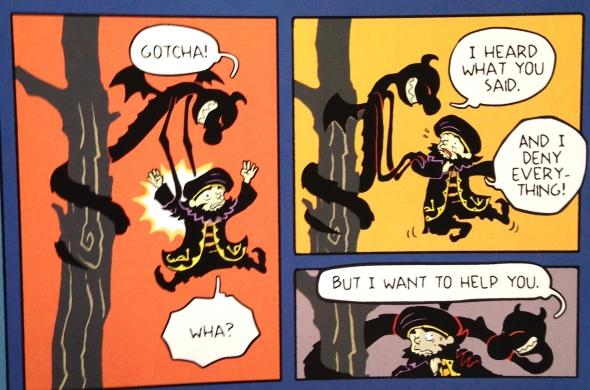 Demon Thief and Hermit