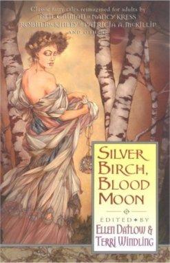 Silver Birch Blood Moon