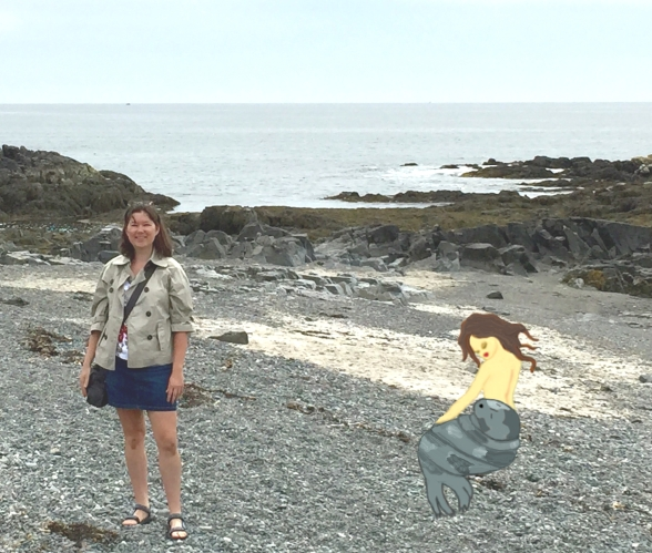 Gooch's Beach selkie