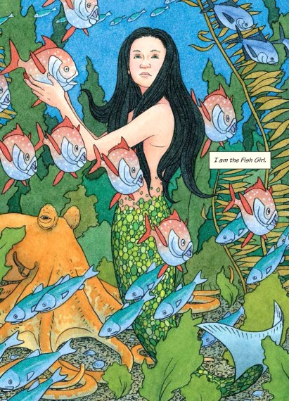 fish girl 1