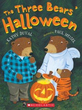 Three Bears' Halloween cover