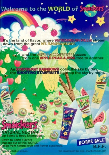 Smackers ad