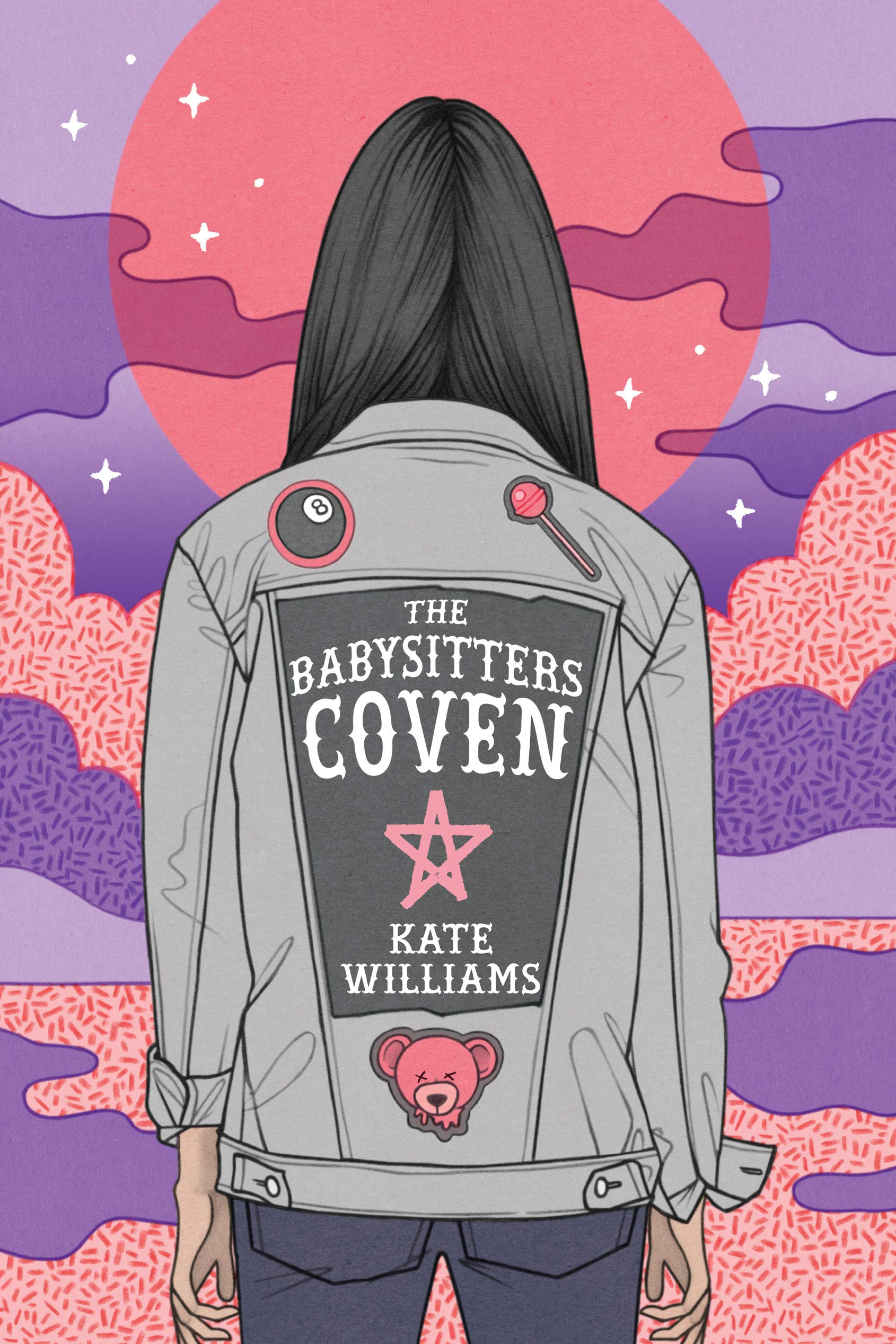 Cover of The Babysitters Coven, by Kate Williams.
